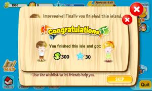 Treasure Fever - Finished Island