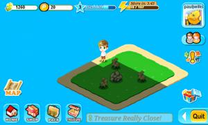 Treasure Fever - Island mid-clearing