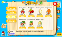 Treasure Fever - Shop