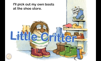 When I Get Bigger - Interactive pages