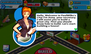 X City - You recieve help via early tutorials with Anny
