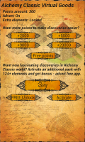 Alchemy Classic - Accumulate points to make discoveries easier