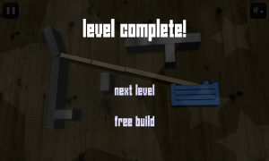 Apparatus - Level complete