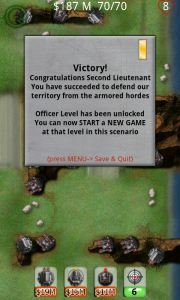 Armored II Tower Defense Level Victory