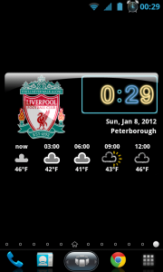 Awesome Widgets - Completed widget