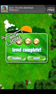 Balliland - Level complete