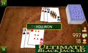 Ban Luck 3D - Winning hand