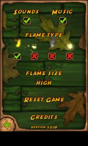 Burn the Rope - Options