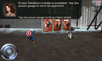 Captain America - Various abilities and moves