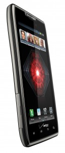 DROID RAZR MAXX Left Angle View