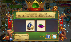 Enchanted Realm - Level up