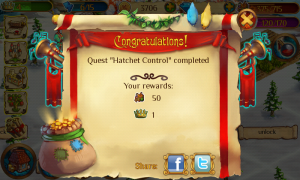 Enchanted Realm - Quest completed!