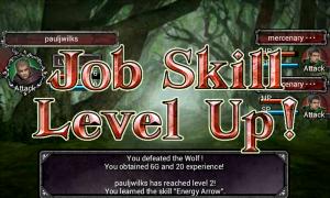 Fallen Realms - Job skill level up