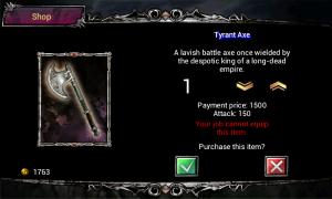 Fallen Realms - Nice axe, I'll take it!