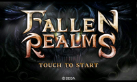 Fallen Realms - Splash page