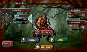 Fallen Realms - Turn based attacking mode
