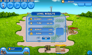 Farm Frenzy - Level results