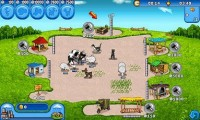 Farm Frenzy - Lots of animals, products and buildings to use