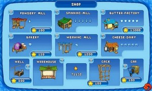 Farm Frenzy - Unlock new shop items as you progress