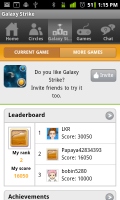Galaxy Strike with Papaya Mobile