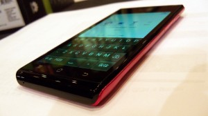 Huawei Ascend P1 S Flat Angle View