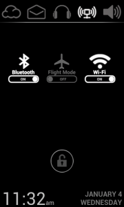 Lucent Lock Screen - Easy to toggle