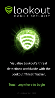 Mobile Threat Tracker Welcome Screen