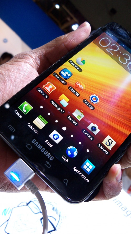 Hands-on Video: Samsung Galaxy Note