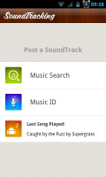 SoundTracking - Post a track