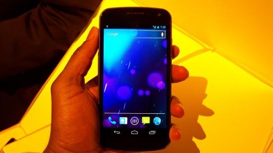 Hands-on Video: Sprint Galaxy Nexus
