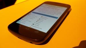 Sprint Galaxy Nexus Angle View 3