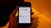 Sprint Galaxy Nexus Front View