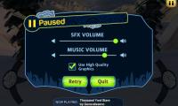 SummitX Snowboarding Pause Menu