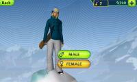 SummitX Snowboarding Select Character