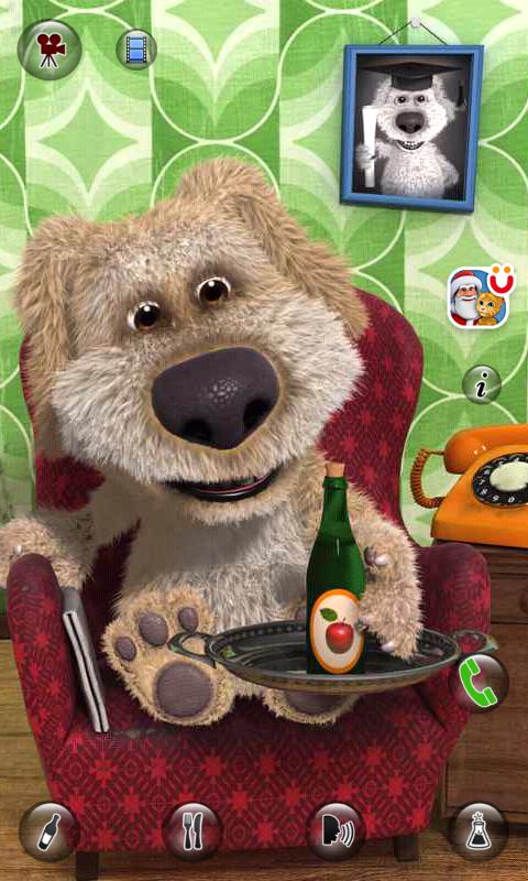 Talking Ben the Dog Android apk game. Talking Ben the Dog free ...
