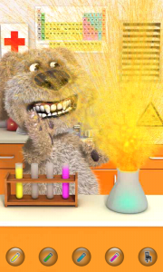 Talking Ben the Dog - Exploding chemicals