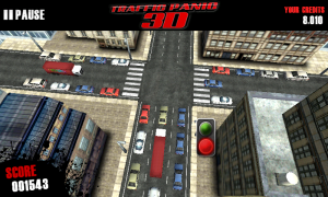 Traffic Panic 3D - Leave it too long and the level will end due to traffic jam