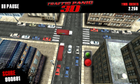Traffic Panic 3D - Manage traffic, avoid crashes