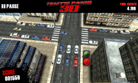 Traffic Panic 3D - Mid-game view