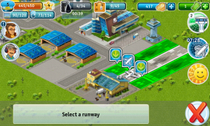 Airport City - Accept guest planes to land