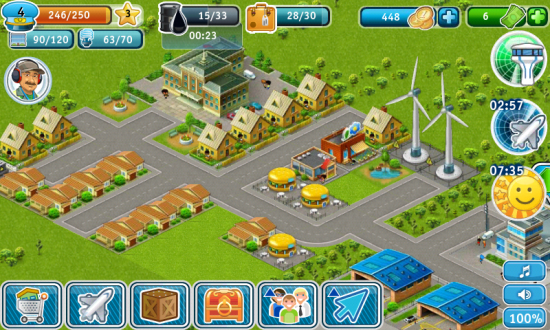 Airport City, an Addictive Tycoon game. Build your own Airport & City!