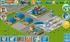 Airport City - Planes land, unload, refuel and reload passengers
