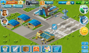 Airport City - Slowly grow your Airport