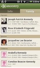 Ancestry - Family info