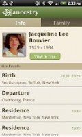 Ancestry - Person view