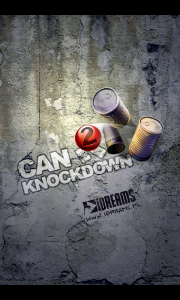 Can Knockdown 2 - Main splash page