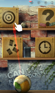 Can Knockdown 2 - Three modes to choose from: target board, classic and hit- the-target