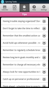 Day-Timer Plan2Go Tips