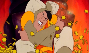 Dragon's Lair - Cut screen