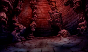 Dragon's Lair - Various scenery and settings